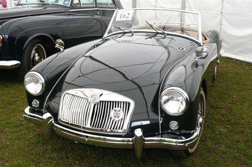 MGA Roadster 1958 Black F34 Historics