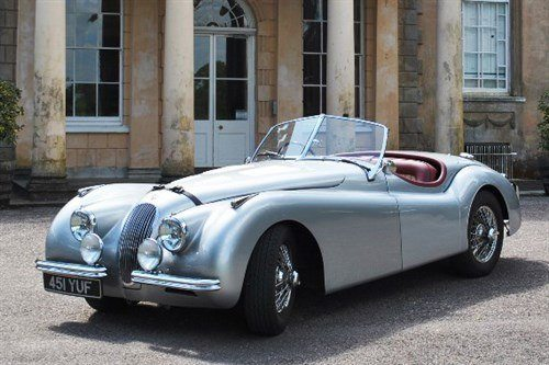 Jaguar XK120SE Roadster Historics