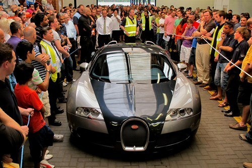 Bugatti Veyron Sold By BCA For £625,000