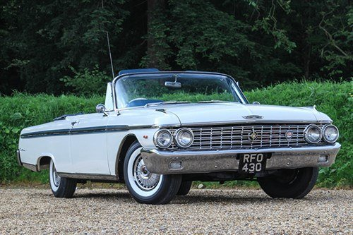 Ford Galaxie Sunliner 1962 Historics