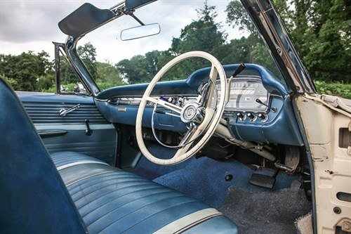 Ford Galaxie Sunliner 1962 Front Seat Historics