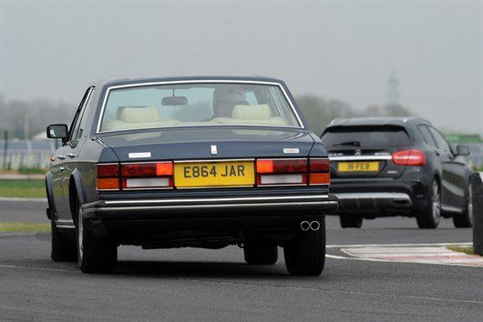 Bentley Turbo R On Track (2)