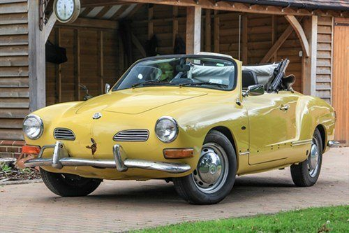 VW Karmann Ghia Conv 1971 Historics