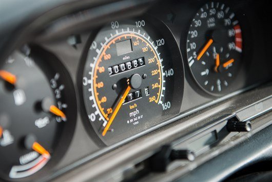 1990 Mercedes -Benz 190 Evolution II Dash
