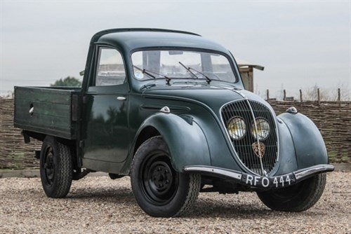 Peugeot 202 Pick -up 1948 Historics