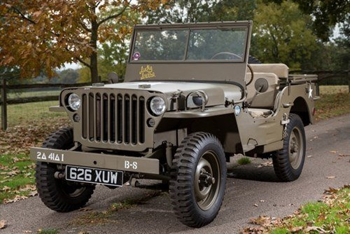 Willys MB Jeep 1942 Historics