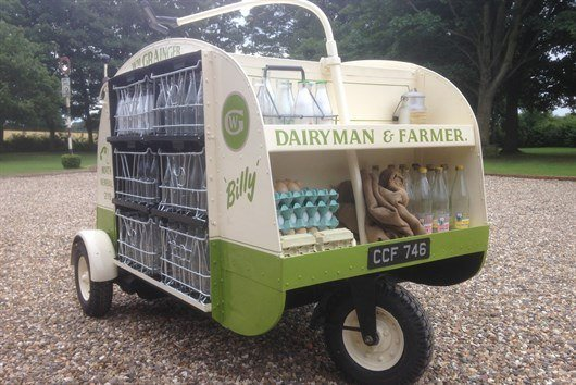 Jonathan Smith Milk Float 1