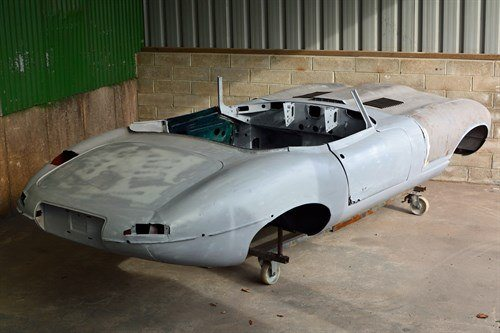 Jaguar E Type Aga Khan In Primer