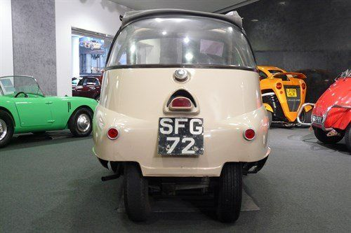 Isetta 300  Plus 1957 Rear Wheels