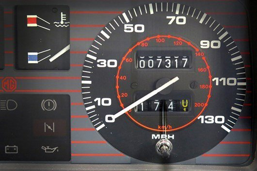 1984 MG Metro Turbo Odometer HR