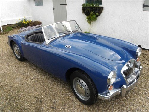 MGA 1600 1960 Brightwells Bicester (1)