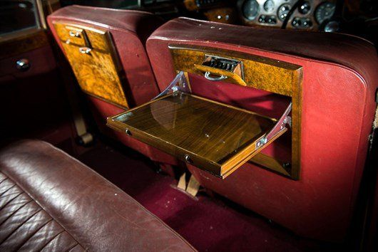 1960 Bentley S2 - The Property Of Sir Ray Davies Of The Kinks Tables