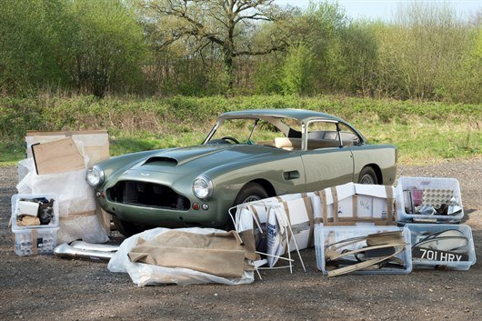 Aston DB4 S3 Sports Saloon Project