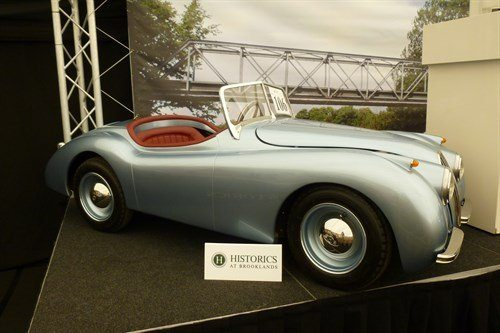 Jaguar XK120 Kiddie Car Side Historics