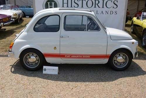 FIAT Abarth 595 S Recreation 1970nside Historics