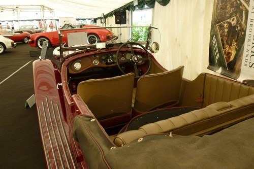 Bentley 3.5 1934 Interior Historics