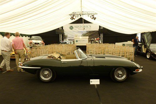 Jaguar E Type 3.8 Roadster 1963 Historics