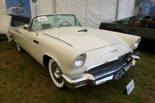 Ford Thunderbird 1957 F34 Historics