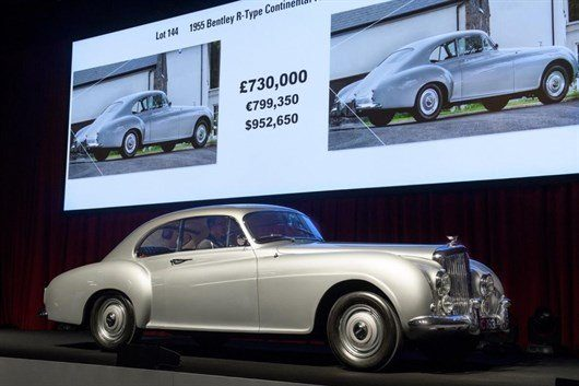 1955 Bentley R-type Continental Fastback Sports Saloon