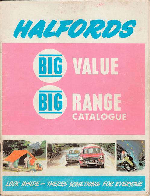 Halfords catalogue 1965 honest john fc 1 publicscrutiny Image collections