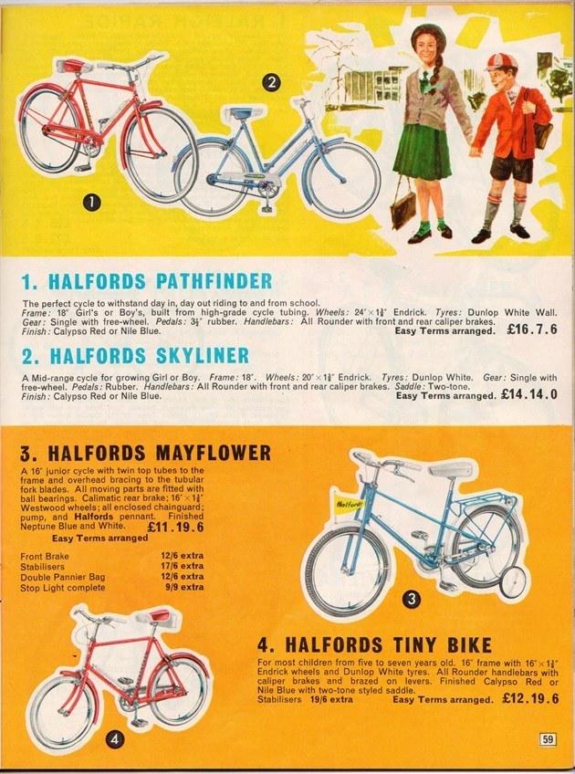 Halfords Catalogue 1965 | Honest John on