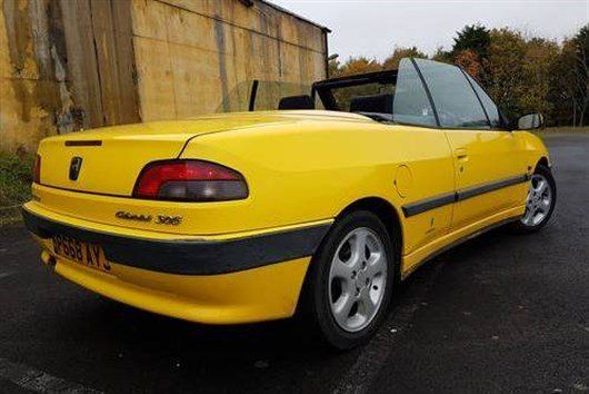 A Grand Monday Peugeot 306 Cabriolet Honest John
