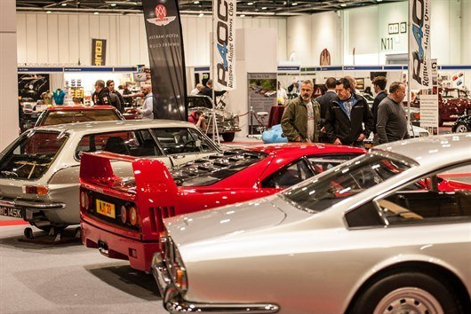 Clubs Set For London Classic Car Show (2)