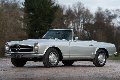 Mercedes Benz W113 280SL 1968 Historics