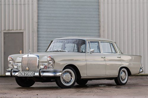 Mercedes Benz W111 230S Fintail 1966 Historics