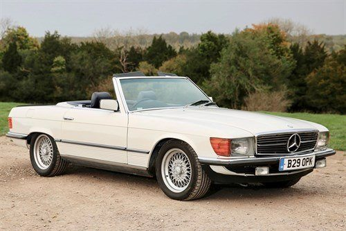 Mercedes Benz R107 500SL 1984 Historics