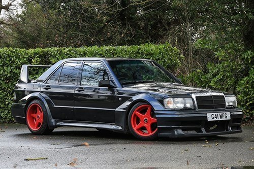 Mercedes Benz 190 EVO1 1989 Historics