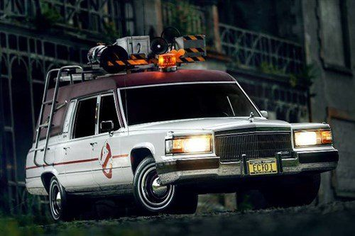 Cadillac Hearse Ghostbusters 1991 Historics