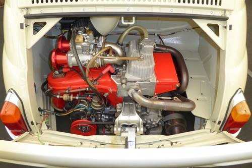 FIAT 500N 1960 695cc Engine Historics
