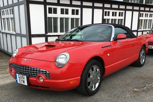 Ford Thunderbird 2002 F34 Historics