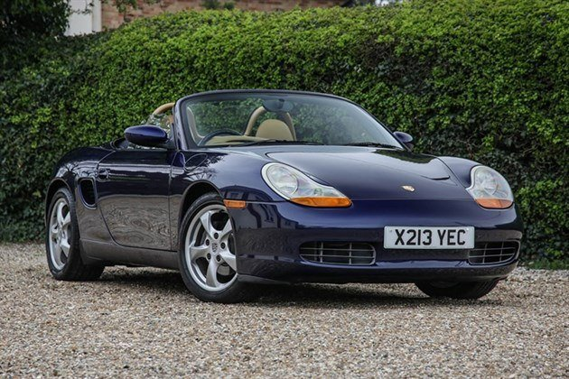 Porsche Boxster 986 Manual 2001 Historics