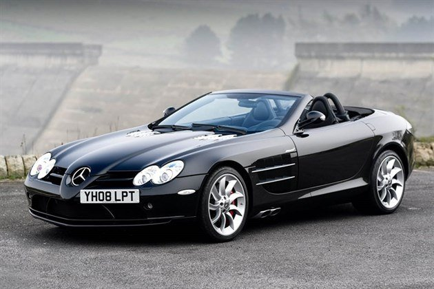 Mercedes Mc Claren SLR Roadster 2008 Historics (1)