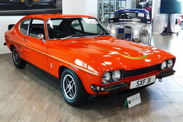 Ford Capri RS3100 1974 Historics