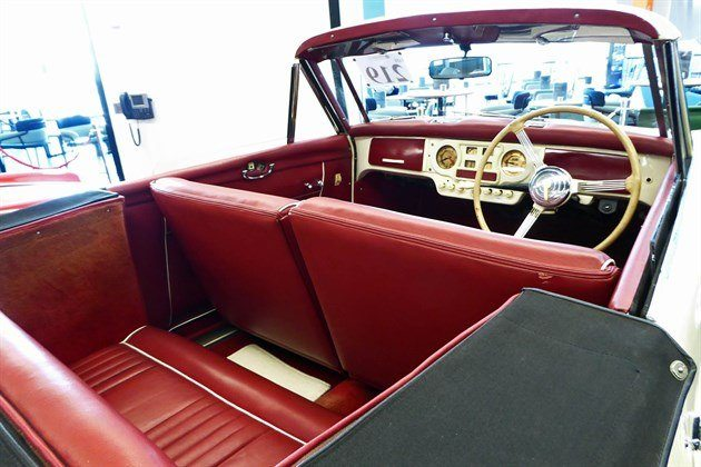 Austin Atlantic Convertible 1950 Interior Historics