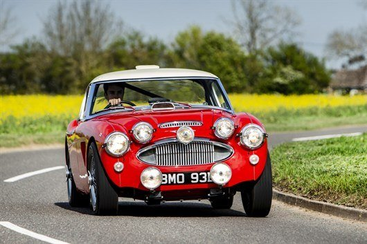 1964 Austin -Healey 3000 Mk III BJ8 'Works ' Rally Car