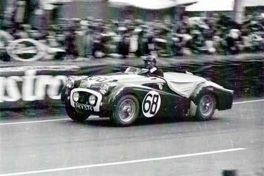 The Ex -Works 1955 Le Mans 24-hours Triumph TR2 (5)