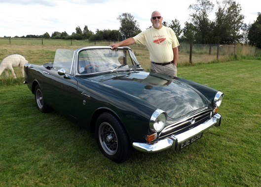 John Simpson 's Sunbeam Alpine