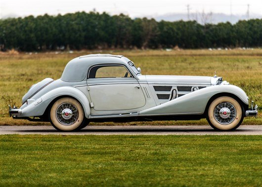 1937 Mercedes Benz 540K Coupe (1)