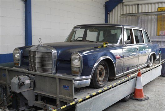 MB 600 Barn Find