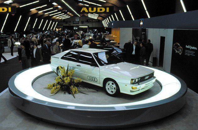 Audi Quattro At Geneva