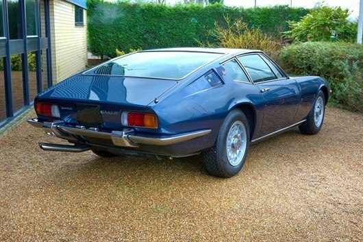 1972 Maserati Ghibli SS Sold For Record £177,640_Coys Spring Classics