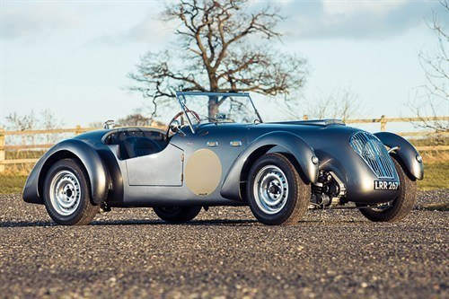 Healey Silverstone 1950 Auction