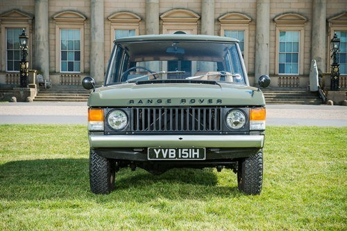 1970 Range Rover Chassis 001 Front