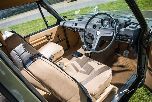 1970 Range Rover Chassis 001 Interior