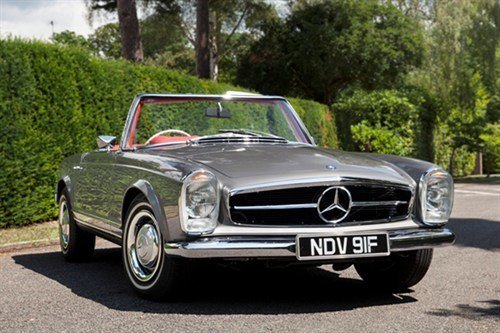 Mercedes 250SL 1967 Historics