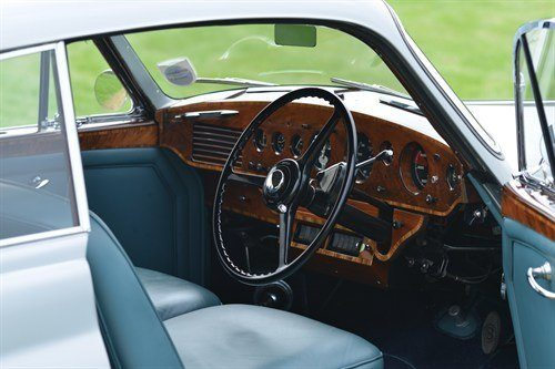 1954 Bentley R Type Continental Fastback Interior